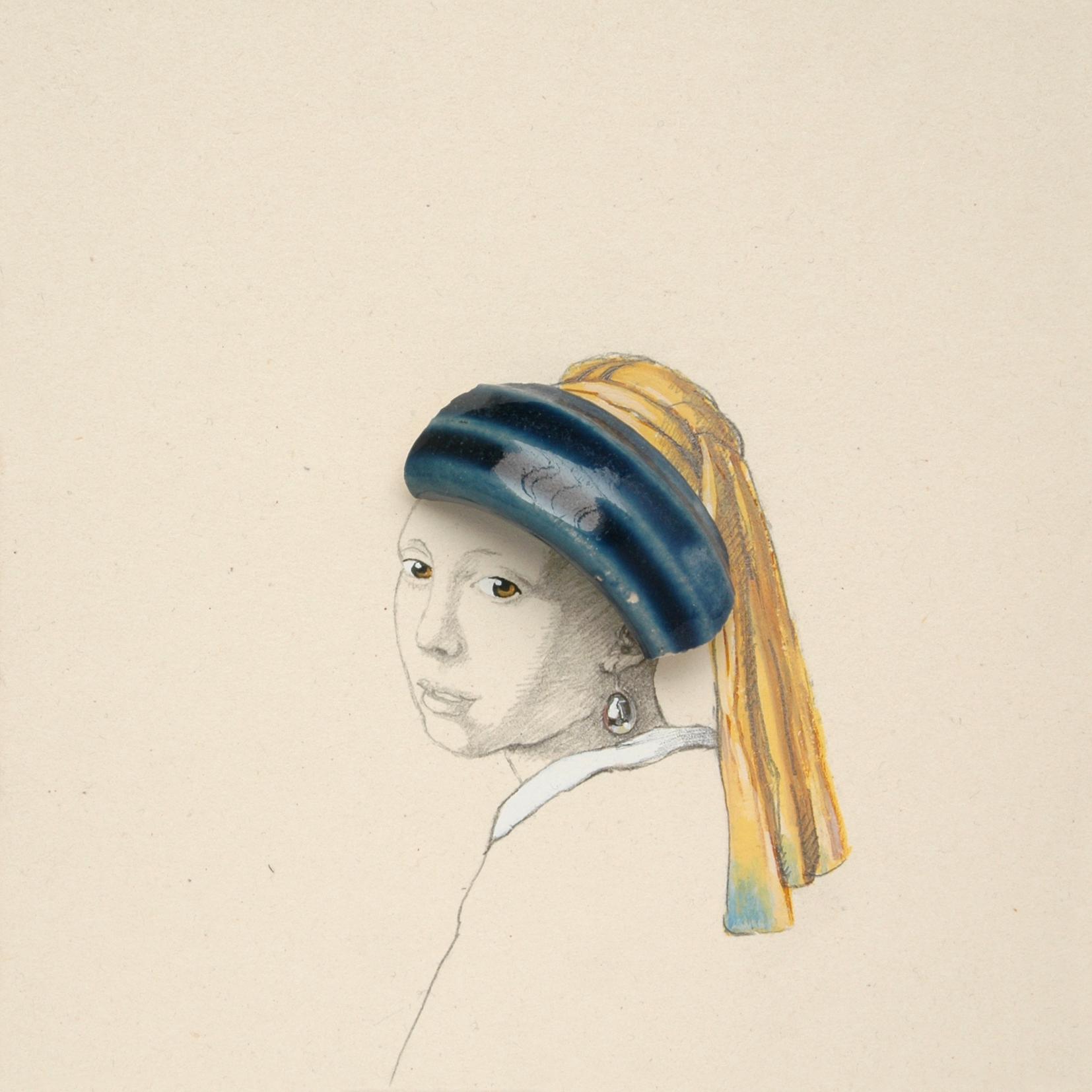 Arbeit von Petra Weifenbach aus der Serie KERAMIKS aus den Jahren 2012/2013, © Petra Weifenbach