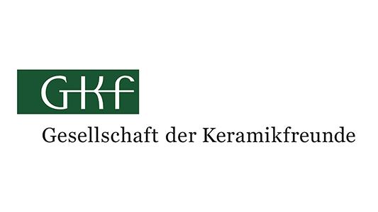 Logo der GKF - Gesellschaft der Keramikfreunde