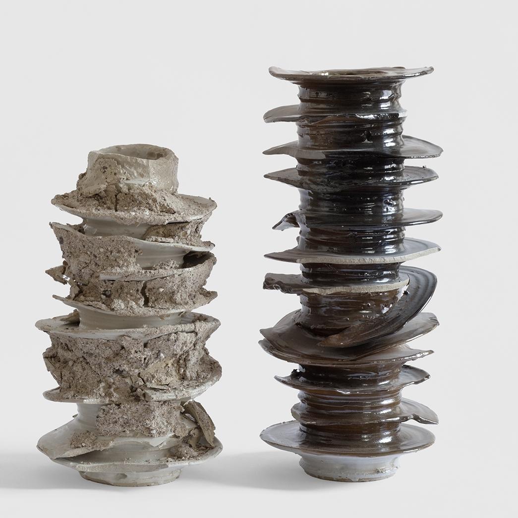 """Zwei Arbeiten von Johannes Nagel mit dem Titel """"New Jazz"""" aus dem Jahre 2013, © René Schäffer"""