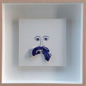 """Arbeit """"Keramiks Nr. 502"""" von Petra Weifenbach"""