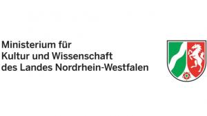 Logo des Ministeriums für Kultur und Wissenschaft des Landes Nordrhein Westfalen