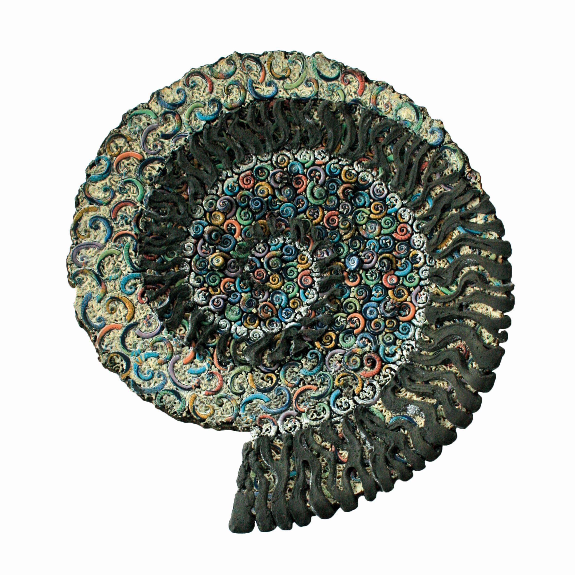 Keramik von Elina Brandt-Hansen, FRACTAL SNAILHOUSE aus dem Jahre 1995 eine Schenkung der Irene und Sigurd Greven Stiftung an das KERAMION